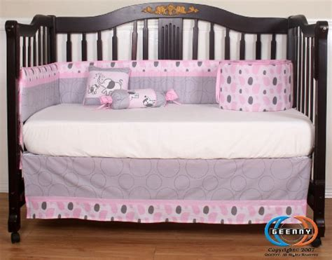 Pink Elephant Bedding For Cribs Boutique Pink Gray Elephant 13pcs Crib Bedding Sets A Boutique