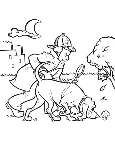 coloring pages of police dogs police dog coloring pages az sketch coloring page