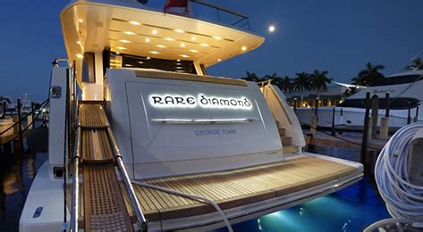four winns boat lettering yachtgraphx custom stainless steel and backlit