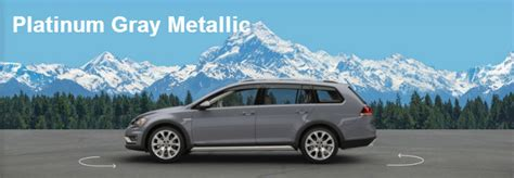 volkswagen alltrack gray 2017 vw golf alltrack exterior paint color options and specs