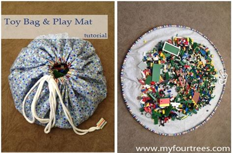 Lego Mat Tutorial by Bag And Play Mat Sewing Tutorial Bambini
