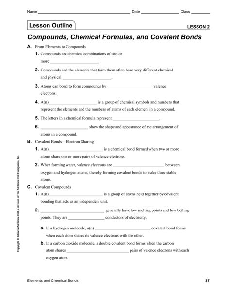 6 2 Covalent Bonding Worksheet How To Draw Lewis