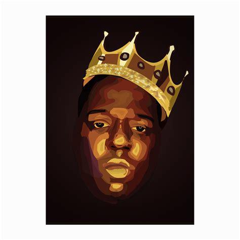 Buy Notorious BIG Cartoon Art Poster   Buy Music Poster   Posterduniya.com