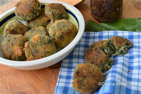 polpette come cucinarle polpette di spinaci la ricetta golosa senza uova e patate