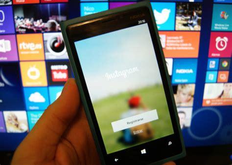 full version of instagram for windows phone instagram llega por fin a windows phone en versi 243 n beta