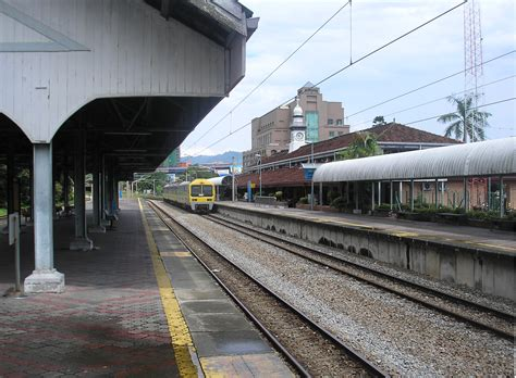 Ktm To Taiping Rail Infrastructure In Malaysia