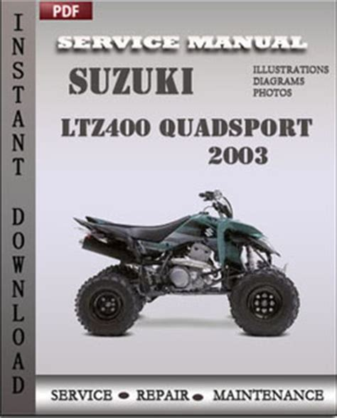 Suzuki Ltz 400 Manual Suzuki Ltz 400 Service Manual Free