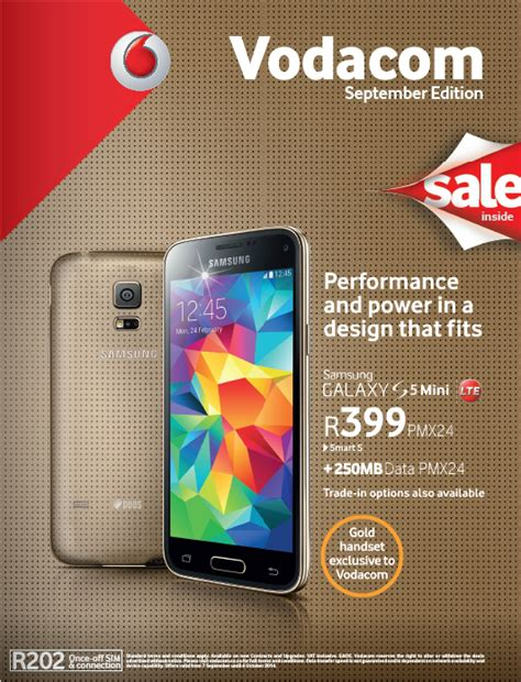 vodacom prepaid deals vodacom shop catalogue for september sa cellular net