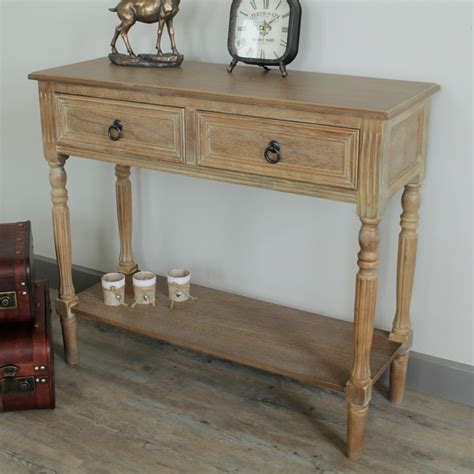 Wooden Hallway Table Wooden Console Table Shelf Furniture Living Room Hallway Bedroom Drawer Storage Ebay