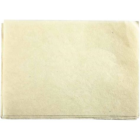 What Is Handmade Paper - handmade paper white 21x30cm 5 pcs foxy studio
