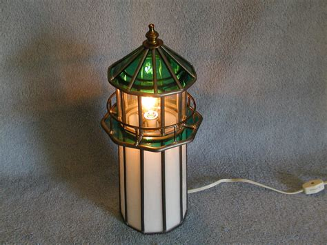 Stained Glass Lighthouse L by Lighthouse L Stained Glass