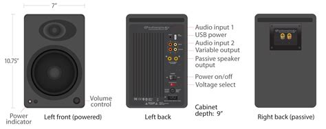 a5 powered speakers audioengine