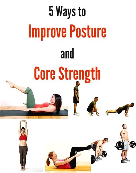 ways to get better posture 5 ways to improve posture and strength live a green