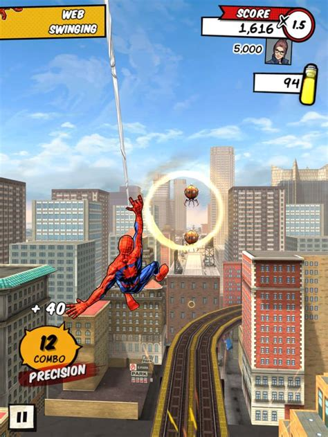 web swinging games spider man unlimited review superior spider talk a