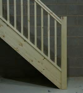 Square Stair Spindles by Additional Landing Balustrade Parts For Your New Staircase