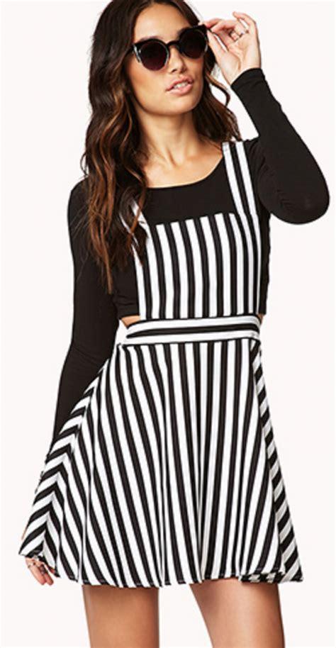 Overall Stripe Blouse striped overalls wardrobe mag
