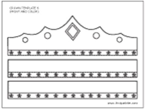 printable wearable crown prince and princess crown printable templates coloring