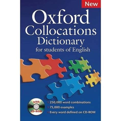 oxford collocations dictionary for 牛津搭配词典 第二版 oxford collocations dictionary 2nd edition 光盘 简介及下载 英语 词典工具