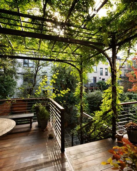 Garden Park Slope by 25 Best Steel Pergola Ideas On