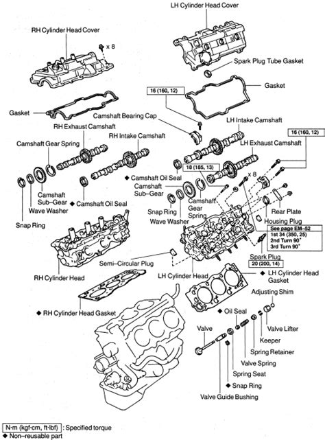 toyota 4runner engine diagram toyota 94 a timing belt engine 3vz fe autos weblog