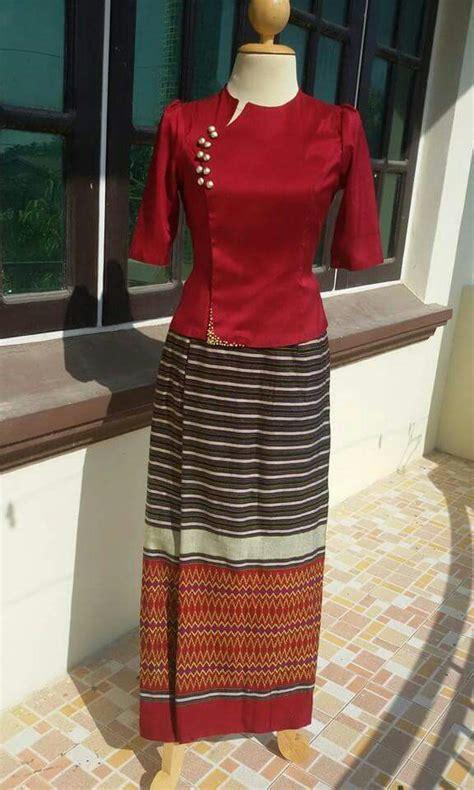 Dress Panjang Selutut myanmar dress myanmar dress simple dresses