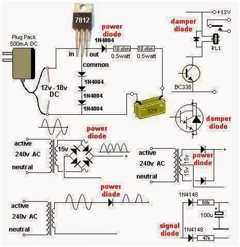 types of diodes explained diodes and their uses electrical engineering pics diodes and their uses library ee pics