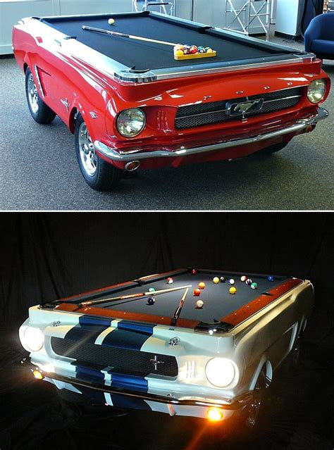 mustang pool table seriously a 65 mustang pool table i will save every last to get me one of