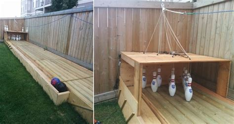 Backyard Bowling by How To Build Your Own Backyard Bowling Alley