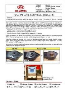 read online technical service bulletin kia