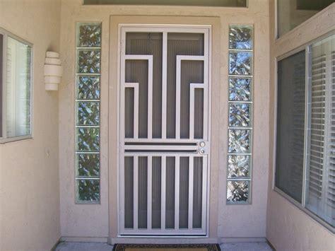 sliding screen door stop doors windows metal security screen doors home