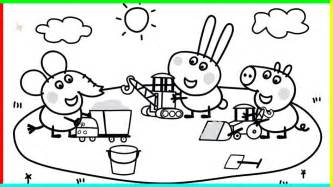 peppa pig coloring books and book pictures to pin on