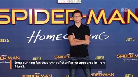 tom holland confirmed crazy fan theory iron