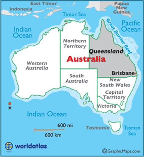 map world brisbane queensland map geography of queensland map of