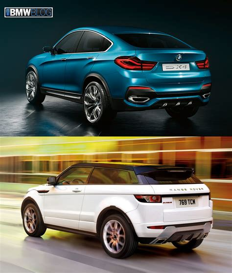 land rover bmw bmw x4 vs range rover evoque photo comparison