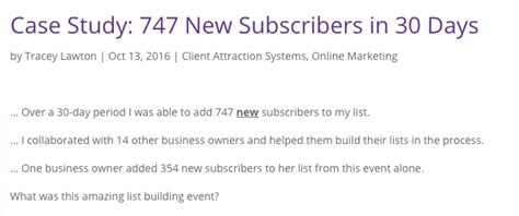 Joint Venture Giveaways - 12 case studies show how to build your email list without guest blogging