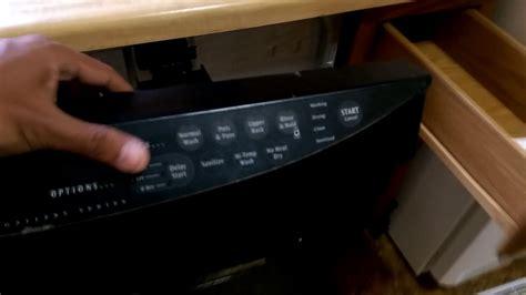 frigidaire dishwasher no lights electrolux frigidaire dishwasher lights does not