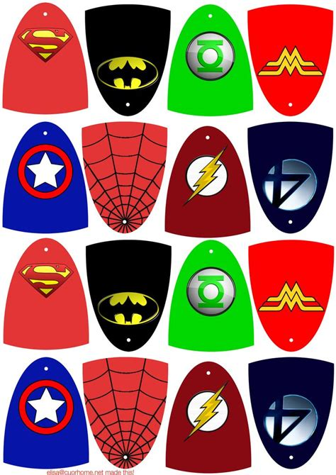 these are hero capes you can print them on cardstock cut