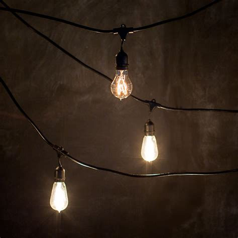 outdoor light bulb strings industrial string lights outdoor 10 ways to give a