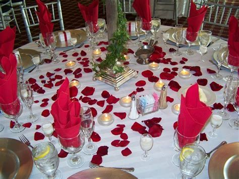 Wedding Ideas Table Decorations