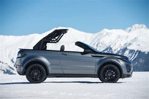 range rover convertible 2017 land rover range rover evoque convertible first drive