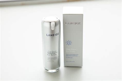 Laneige Time Freeze Eye Serum laneige skincare haul from seoul the moonberry