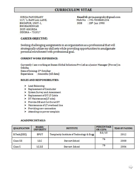 Sle Resume Vlsi Design Engineer Resume Format For Vlsi Freshers 28 Images Sle Resume For Vlsi Design Engineer Sle Customer