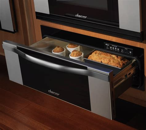 oven warming drawer temperature dacor rwdv30b 30 inch warming drawer with 1 7 cu ft