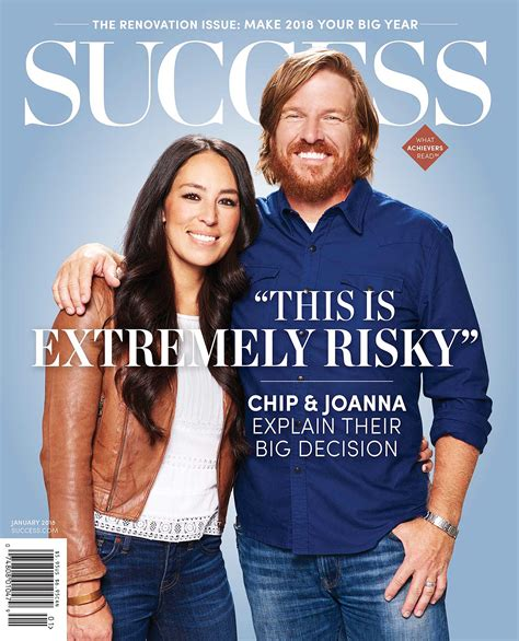 joanna chip gaines chip joanna gaines on risky decision to end fixer upper