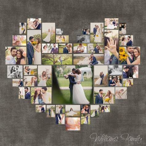 any color you like photo gallery custom options custom heart shape with your own photos
