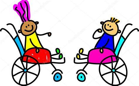 imagenes niños felices jugando grupo de ni 241 os discapacitados felices archivo im 225 genes