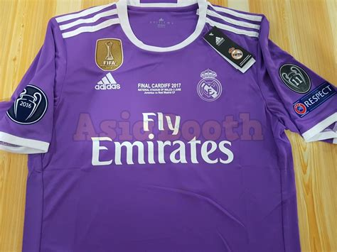 Jersey Real Madrid Home Cardiff Ucl 2017 Grade Ori chions league jersey nfl sale