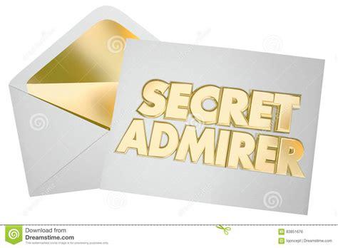 secret letter admirer illustrations vector stock images