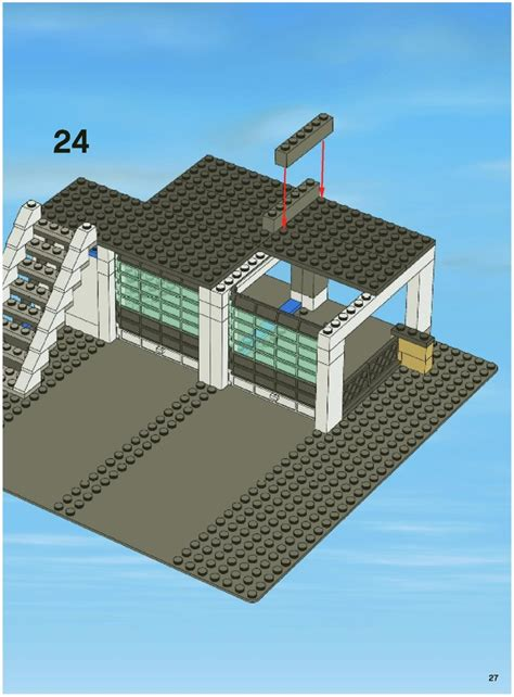 Lego Police Station 7498 Instructions
