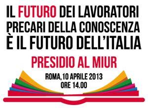 cgil scuola roma sedi 10 aprile presidio a roma dei precari della conoscenza